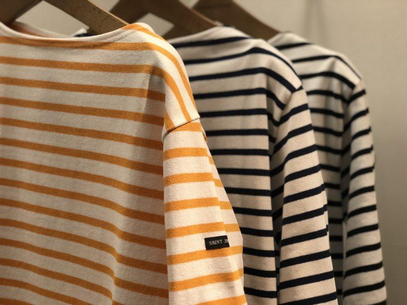 SAINTJAMES ¥10,800 カラー:ブラック、ブルー、オレンジ サイズ:F 品番:18070410017710