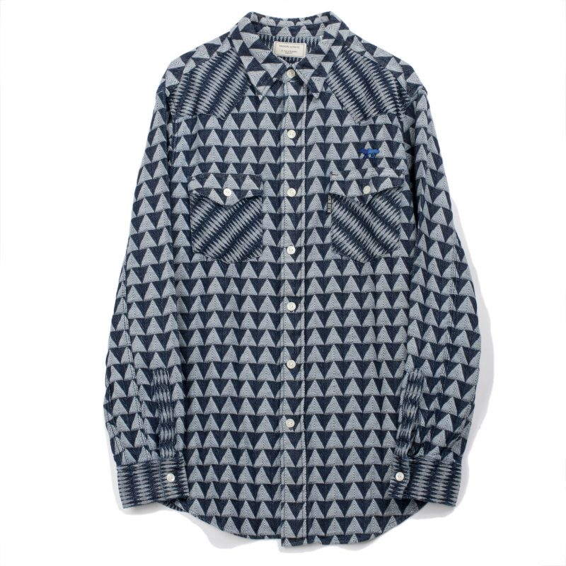 indigo-jaquard-shirt